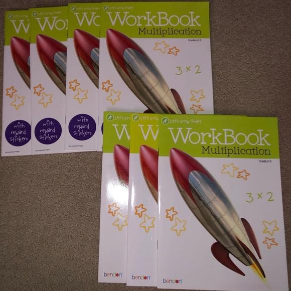 Multiplication Work Books